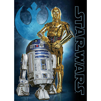 DIAMOND DOTZ Kit Star Wars Les Droïdes par DIAMOND DOTZ®