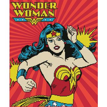 DIAMOND DOTZ Kit DC Comics WONDERWOMAN par DIAMOND DOTZ®