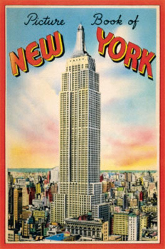 CAVALLINI Set de 12 Cartes Postales Vintage  New York City