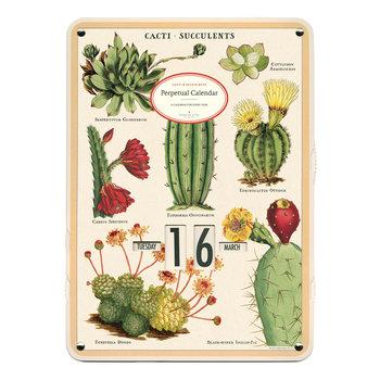 CAVALLINI Calendrier Perpétuel tableau Succulentes