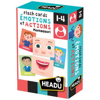 HEADU Flashcards Émotions et Actions Montessori