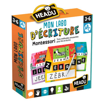 HEADU Mon Labo d'écriture Montessori