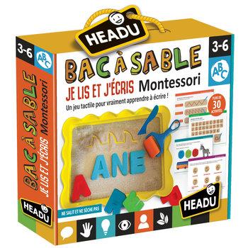 HEADU Bac à Sable je Lis er j'écris Montessori