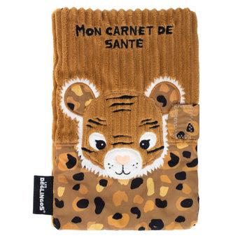 LES DEGLINGOS Protege Carnet De Sante Speculos Le Tigre