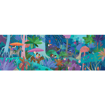 DJECO Puzzle Gallery Children's walk - 200 pcs