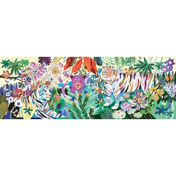 DJECO Puzzle Gallery Rainbow tigers - 1000 pcs