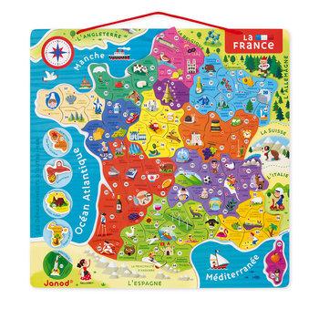 JANOD Puzzle France Magnetique