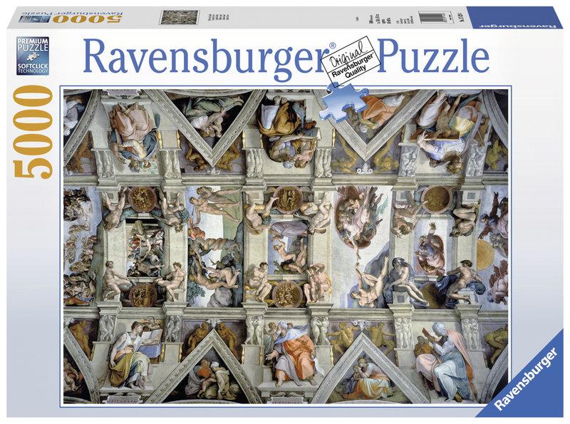 RAVENSBURGER Puzzle 5000 p - Chapelle Sixtine
