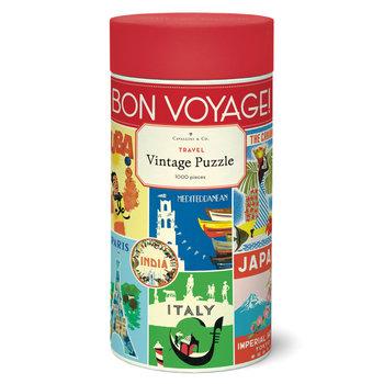 CAVALLINI Puzzle 1000 pièces 55x70cm Voyage