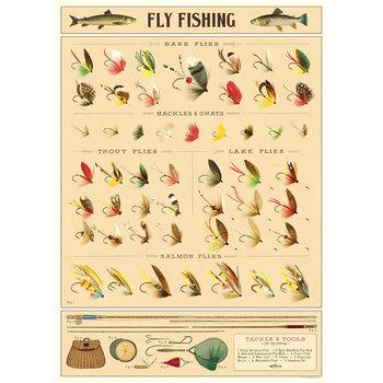 CAVALLINI Poster 50x70cmVintage Poissons volants