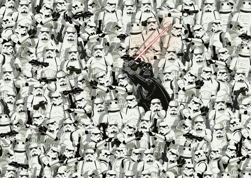 RAVENSBURGER Puzzle 1000 p - Star Wars (Challenge Puzzle)