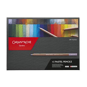 CARAN D'ACHE Pastel Pencils assortiment 40 pièces