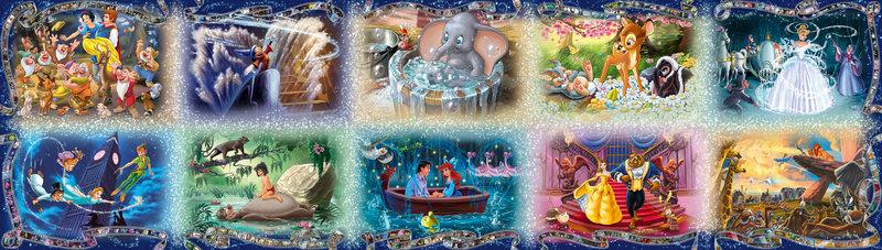 RAVENSBURGER Puzzle 40000 p - Les inoubliables moments Disney