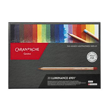 CARAN D'ACHE Luminance 6901® Boîte carton à 20 couleurs