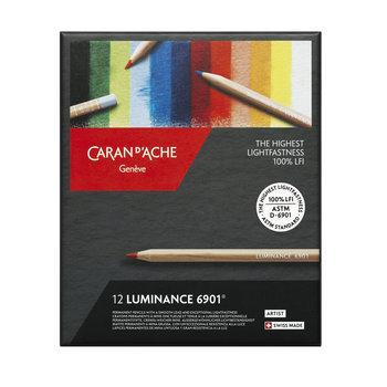 CARAN D'ACHE Luminance Boîte carton de 12 couleurs