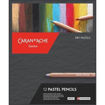 CARAN D'ACHE Pastel Pencils assortiment 20 pièces