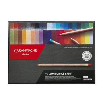 CARAN D'ACHE Luminance 6901® Boîte carton à 40 couleurs