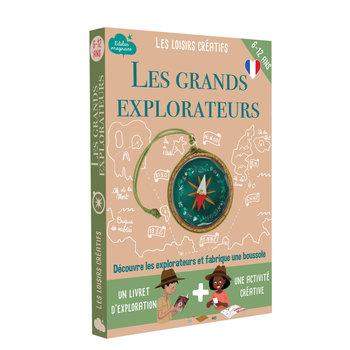 L'ATELIER IMAGINAIRE Kit créatif Les Grands explorateurs