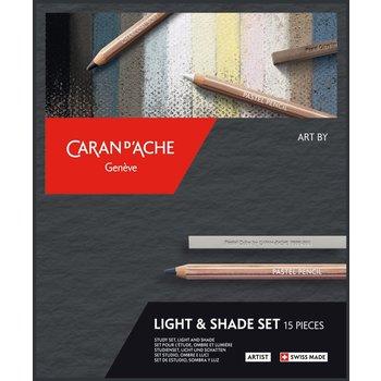 CARAN D'ACHE Artist Art by Ombre & Lumière 15 pcs-FSC