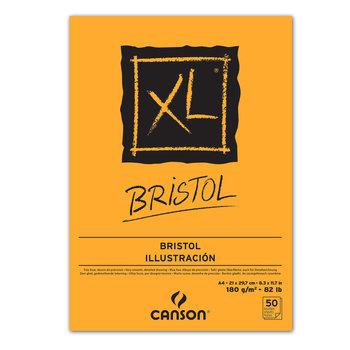 CANSON Bloc 20Fl Col 1 Cote Bristol Canson® Graphic A4 250G  Blanc