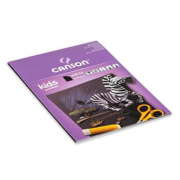 CANSON Bloc Kids Creation Noir Canson® 10Fl A4 220G/m²
