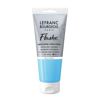 LEFRANC BOURGEOIS Flashe Acrylique 80Ml Tube Bleu Lagon