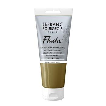 LEFRANC BOURGEOIS Flashe Acrylique 80Ml Tube Bronze Iridescent