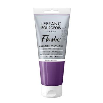 LEFRANC BOURGEOIS Flashe Acrylique 80Ml Tube Violet Minéral