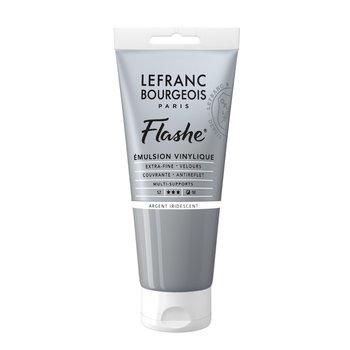 LEFRANC BOURGEOIS Flashe Acrylique 80Ml Tube Argent Iridescent