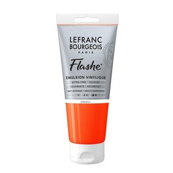 LEFRANC BOURGEOIS Flashe Acrylique 80Ml Tube Orange