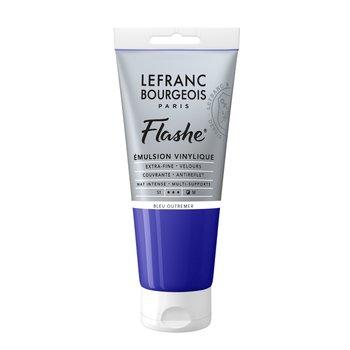 LEFRANC BOURGEOIS Flashe Acrylique 80Ml Tube Bleu Outremer
