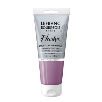 LEFRANC BOURGEOIS Flashe Acrylique 80Ml Tube Rose De Parme Iridescent