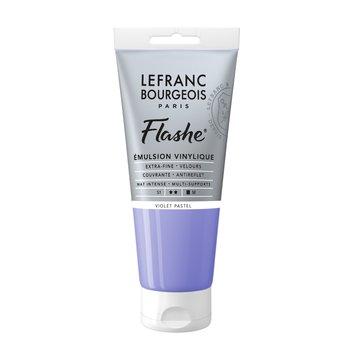 LEFRANC BOURGEOIS Flashe Acrylique 80Ml Tube Violet Pastel
