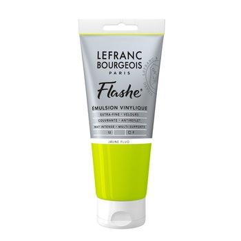 LEFRANC BOURGEOIS Flashe Acrylique 80Ml Tube Jaune Fluo