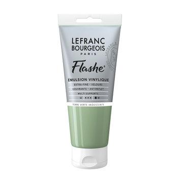 LEFRANC BOURGEOIS Flashe Acrylique 80Ml Tube Terre Verte Iridescente