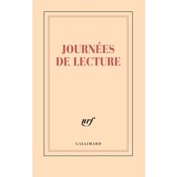 """GALLIMARD Carnet ligné """"JOURNEES DE LECTURE"""""""