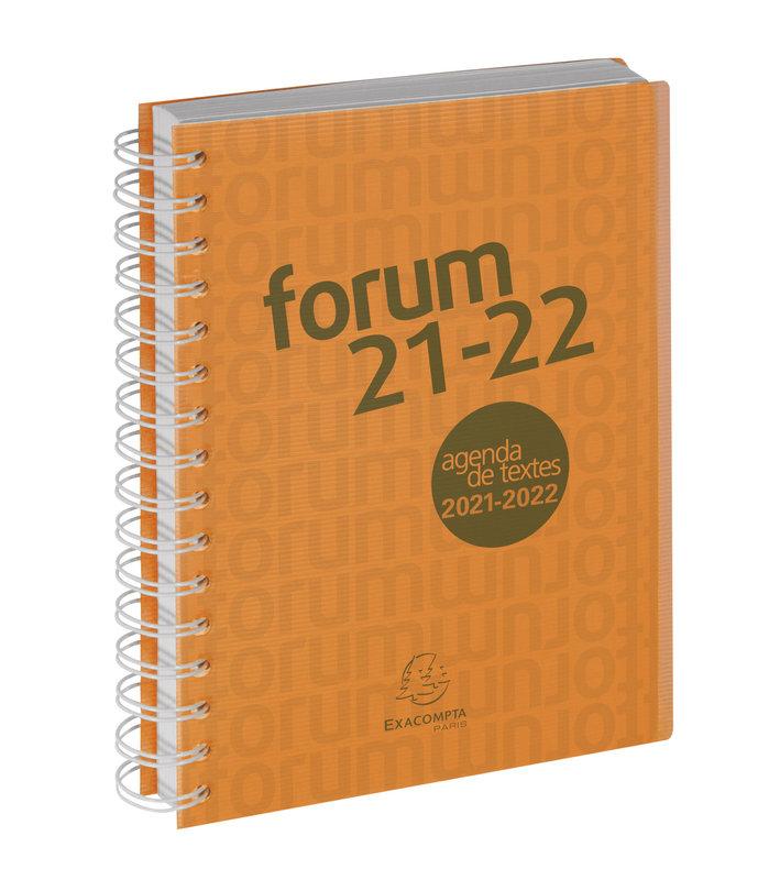 EXACOMPTA Agenda Scolaire 1 jour par page Forum Office Linicolor 210x150 couleurs aléatoires