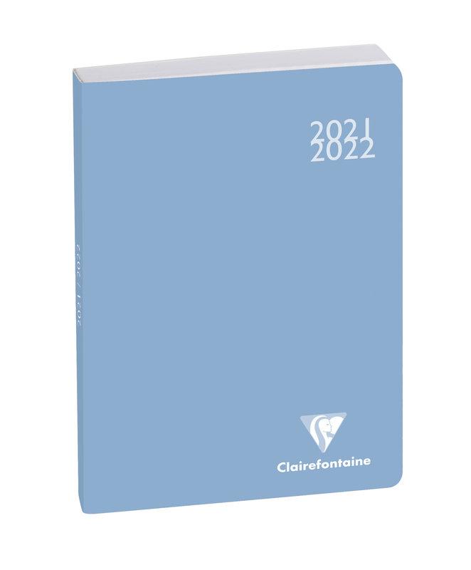 EXACOMPTA Agenda Scolaire 1 jour par page Forum Color Soft Harmony 170x120 couleurs aléatoires