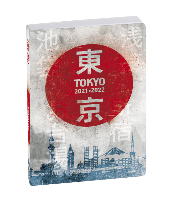 EXACOMPTA Agenda Scolaire 1 jour par page Forum Country Flag 120x170 Tokyo