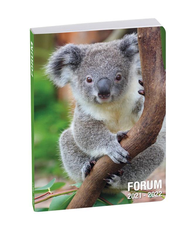 EXACOMPTA Agenda Scolaire 1 jour par page Forum Animaux 120x170 koala