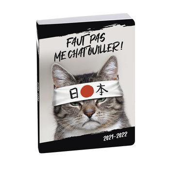 EXACOMPTA Agenda Scolaire 1 jour par page Forum Funny pets 120x170 chat