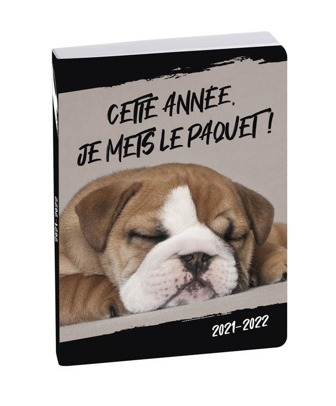 EXACOMPTA Agenda Scolaire 1 jour par page Forum Funny pets 120x170 chien