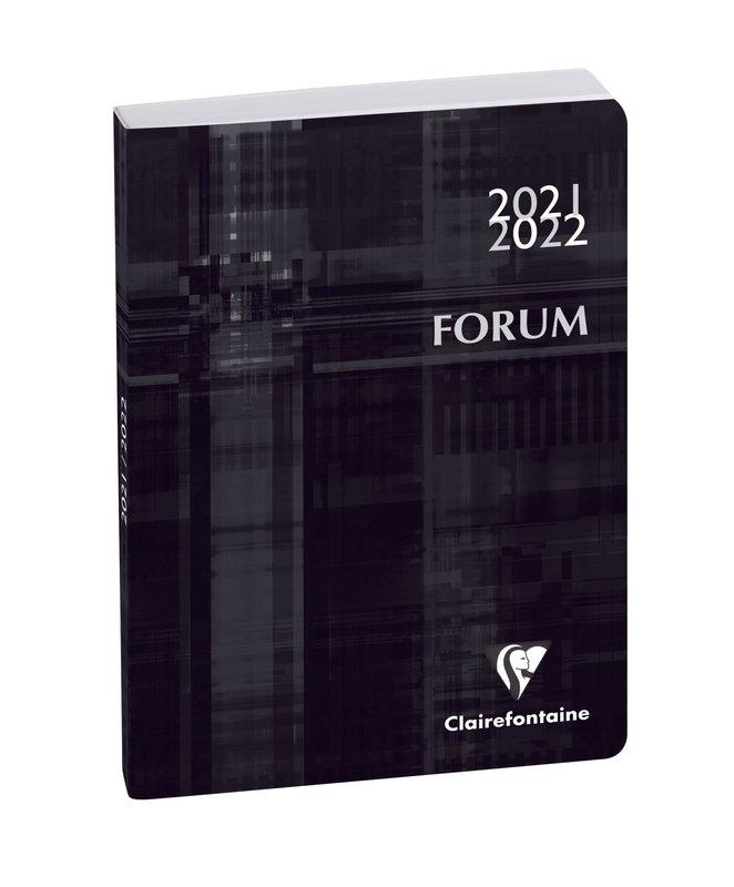 EXACOMPTA Agenda Scolaire 1 jour par page Forum Metric 170x120 noir