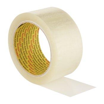 SCOTCH Rubans d'emballage Scotch® 309 Silencieux, couleur Transparent, 50 µm, 50mm x 66 m