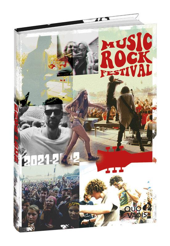 QUO VADIS Agenda scolaire 1 jour par page Eurotextagenda Festival 12x17cm Modèles aléatoires