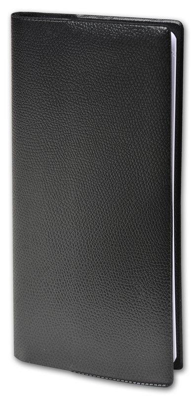 QUO VADIS Agenda scolaire semainier horizontal et notes Italsept S Impala 8,8x17cm noir