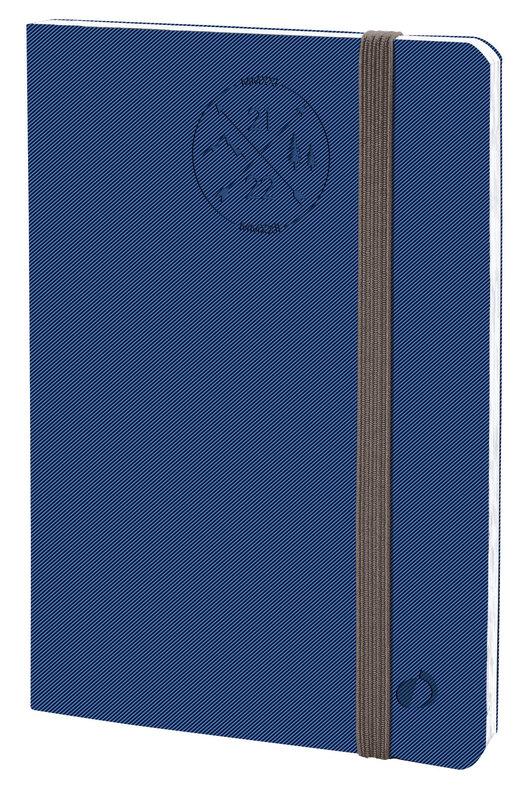 QUO VADIS Agenda scolaire semainier Planning 21 SD Everest 18x24cm bleu den Elast