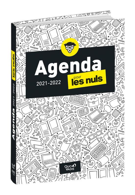 QUO VADIS Agenda scolaire 1 jour par page Pour les Nuls 12x17cm