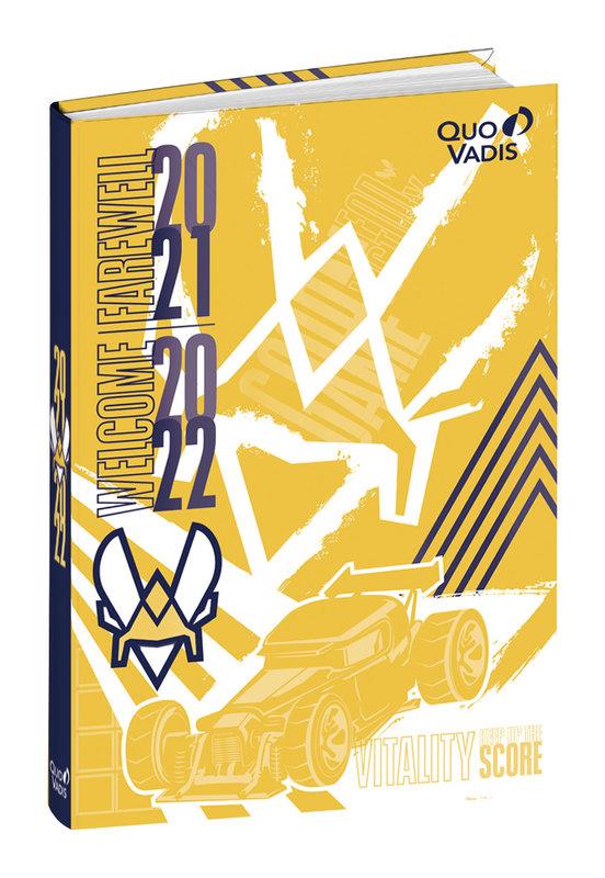 QUO VADIS Agenda scolaire 1 jour par page Eurotextagenda Vitality 12x17cm Modèles aléatoires