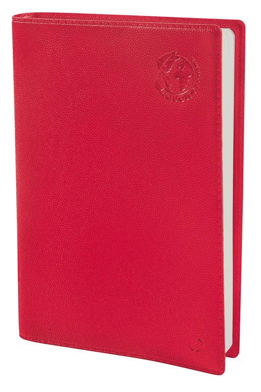 QUO VADIS Agenda scolaire 1 jour par page Eurotextagenda Equology 12x17cm rouge